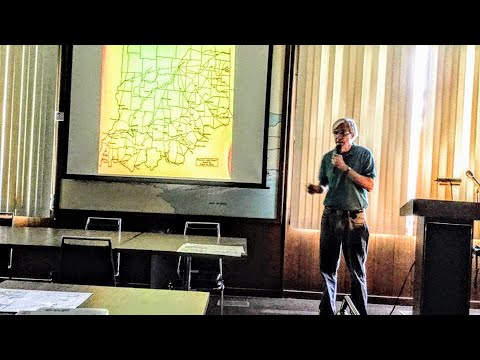 MCHC 8/28/2018 David Nord gives a program on the history of Spring Mill State Park