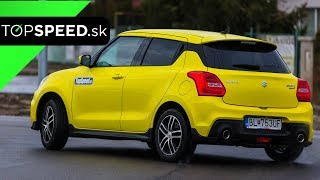 Suzuki Swift Sport 2018 test - Maroš ČABÁK TOPSPEED.sk