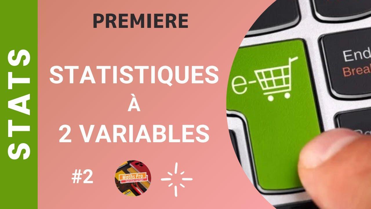 Séquence 4 - Exercice corrigé - Statistiques à 2 variables - Terminale Bac Pro - YouTube