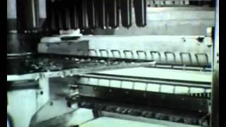 Glasstillverkning i GB-fabriken 4/4 (1950-tal)