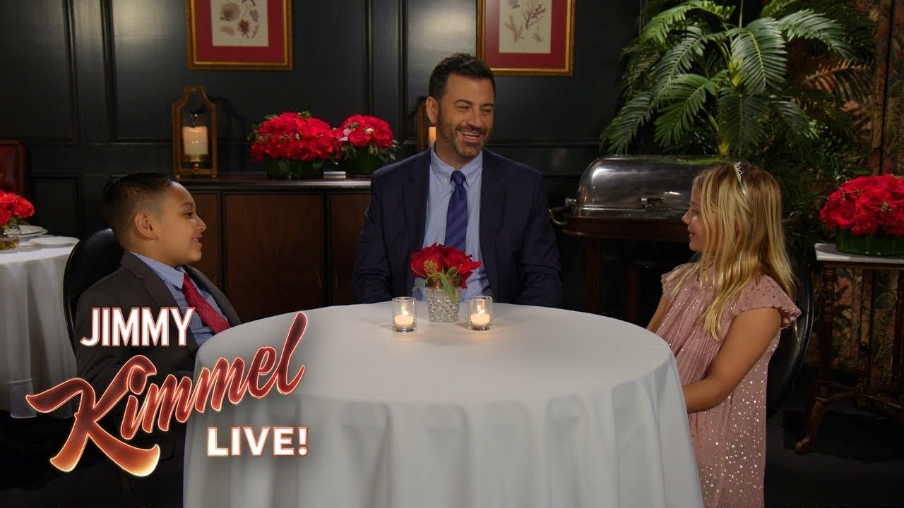 Jimmy Kimmel Talks To Kids About Love - YouTube