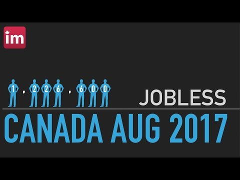 Jobless immigrants in Canada (August 2017)   Employment in Canada