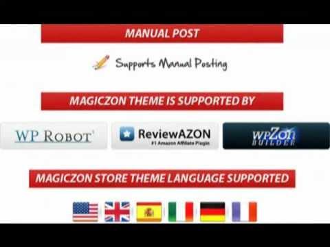 MagicZon - Amazon Store Wordpress Theme - YouTube