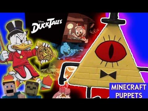 DuckTales Reboot vs. Bill Cipher 2017 Uncle Scrooge Disney XD Cartoon Gravity Falls full episode