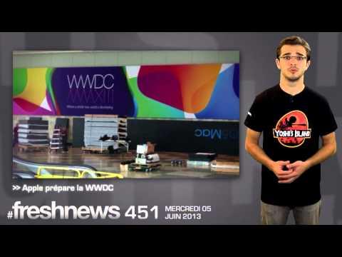 freshnews #451 Nouveau Gmail iOS, Apple prépare le WWDC, Amazon fresh (05/06/13)