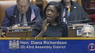 NY St. Assemb. Diana Richardson Speech On The Response To Crack Epidemic vs. Opioid Epidemic