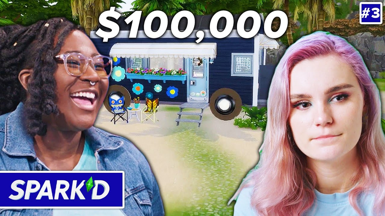 Pro Sims Teams Split Up To Win $100k In The Sims 4 • Spark'd Ep. 3 thumbnail