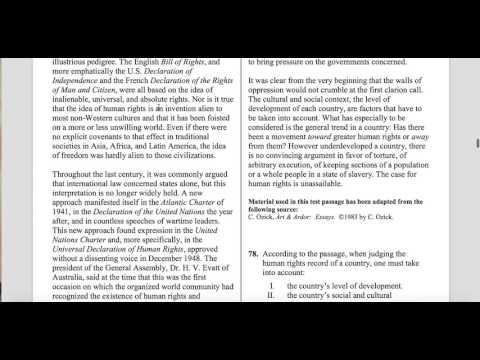 MCAT CARS/Verbal Tutorial 2 (Legal Philosophy) - CurveSetter MCAT Prep