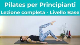 Pilates Per Principianti - Lezione Completa | PIlates Livello Base | Pilates a Casa