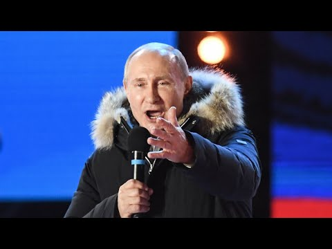 Russia: 'Bound for success' Putin claims crushing election win