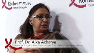 Interview with Alka Acharya at the 3rd Berlin Foreign Policy Forum