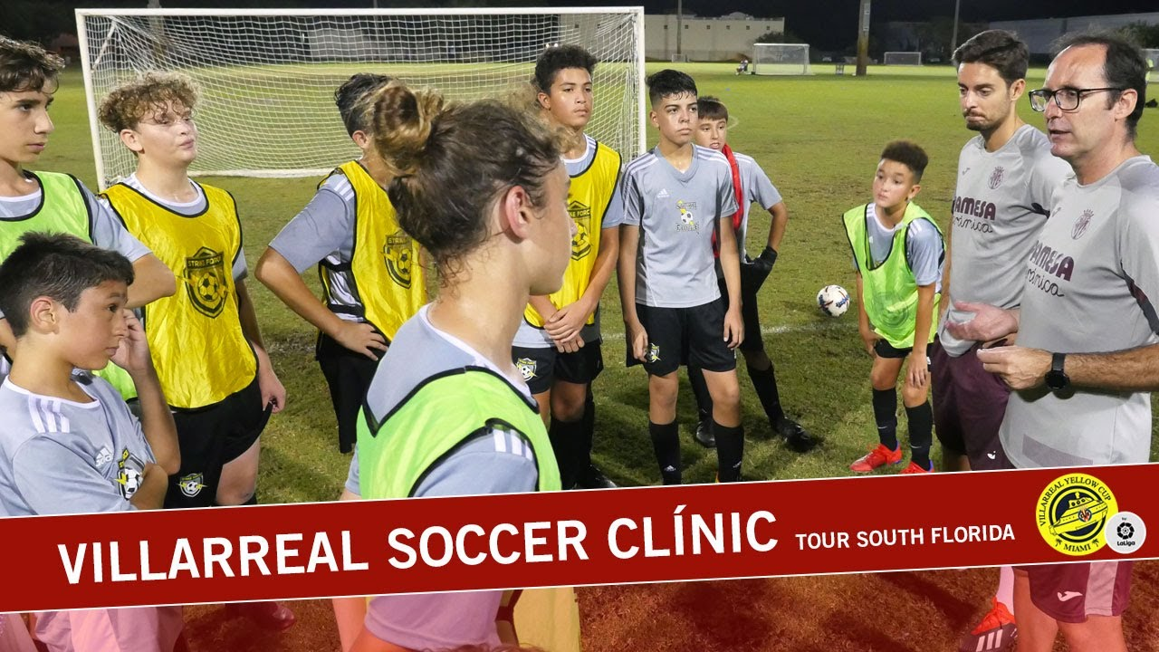 Villarreal Soccer Clínic Tour South Florida -  Miami Stricke Force | 2019