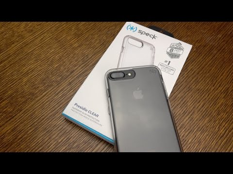 finest selection 3097b 127ae Speck Presidio Clear iPhone 7 Plus Case