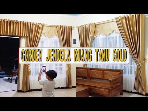 gorden-minimalis-jendela-ruang-tamu-warna-gold-|-curtain-design-2020