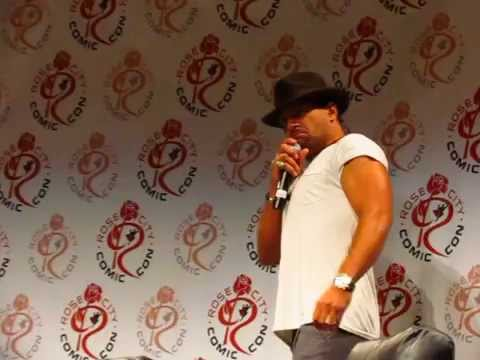 Manu Bennett plays Crixus, Azog & Slade WilsonDeathstroke @ Rose City comicon