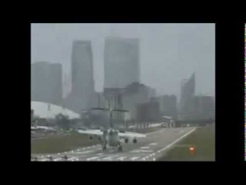 world's worst landing, Terrible Weather conditions..!!