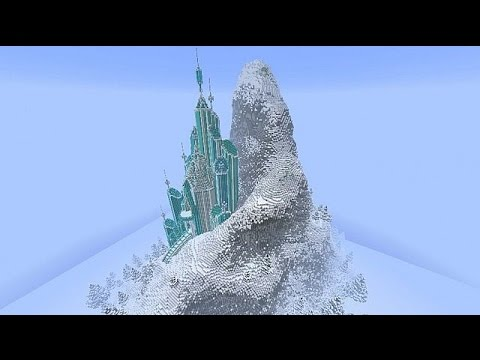 Let it go from Frozen (minecraft edition) (20 subs special) JK