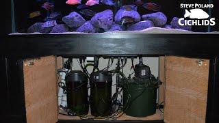 125g african cichlid aquarium equipment walkthrough