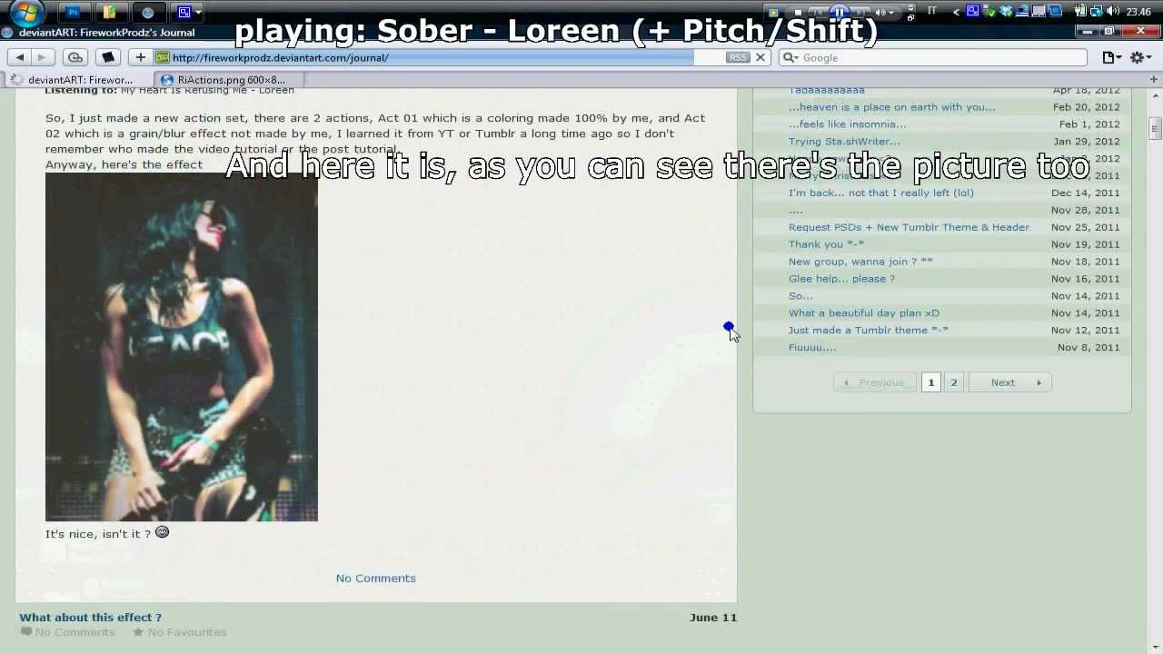 Deviantart How To Show Pictures In The Journal Entries