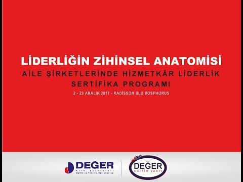 Liderliğin Zihinsel Anatomisi Eğitim Programı Tanıtım Videosu