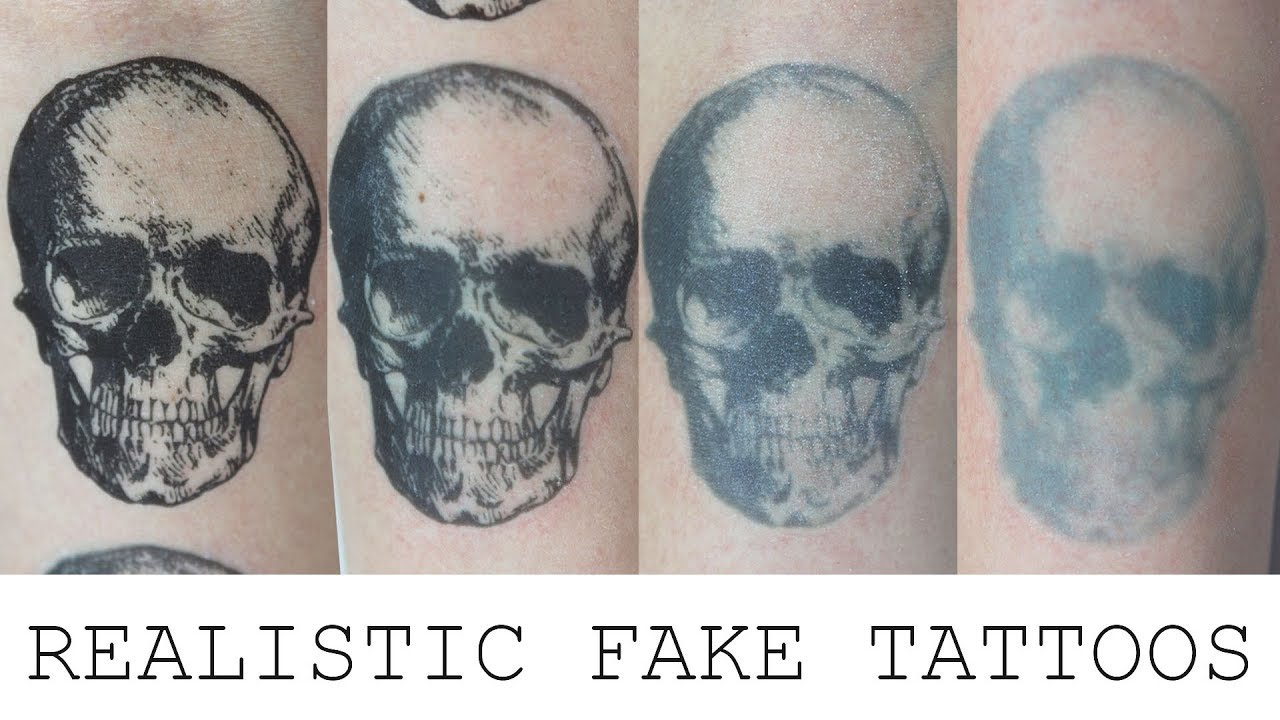How To Make A Realistic Fake Tattoo Fresh Aged