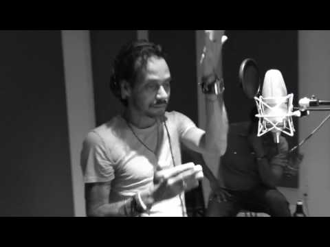 VIDEO EXCLUSIVO: Marc Anthony Graba Felices Los 4 version Salsa