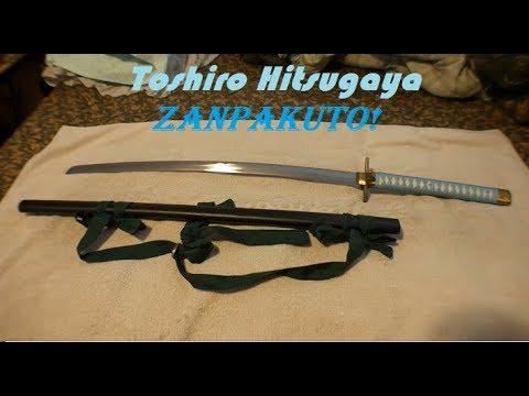 20 Bleach Toshiro Hitsugaya Zanpakuto Hyōrinmaru Sword Youtube