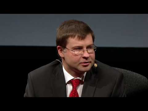 "Valdis Dombrovskis on ""The Latvian Financial Crisis"""