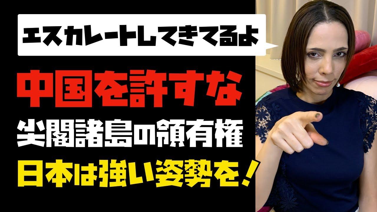 【中国を許すな】「尖閣諸島の領有権」日本は強い姿勢を!