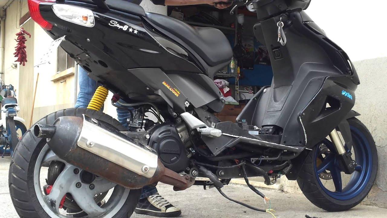 Schema Elettrico Zip Fast Rider : Prima accensione sr r con blocco motore runner youtube