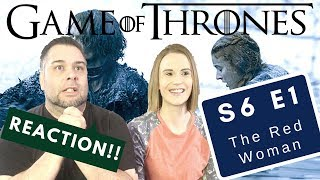 Game Of Thrones | S6 E1 'The Red Woman' | Reaction | Review