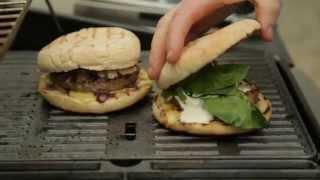 Paul Flynn- Summer Bbq Recipes- Superburger With Red Onion Marmalade, Cheddar & Sour Cream