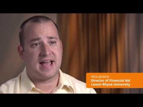 CampusLogic Testimonial: Nick Jenkins, Director of Financial Aid at Lenoir-Rhyne