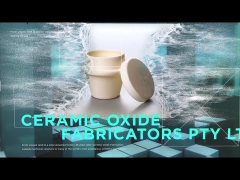 Ceramic Oxide Fabricators - Manufacturer of the Year - Small Business Finalist