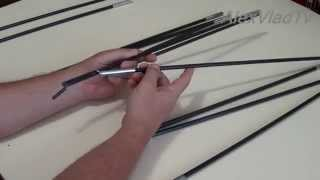 Ремонт дуги палатки. How to repair the tent arc.