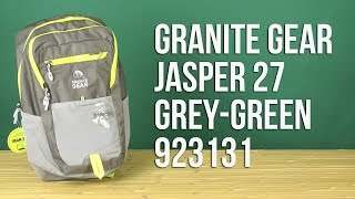 Розпакування Granite Gear Jasper 27 Grey-Green 923131