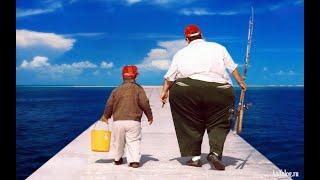 Смешные приколы с рыбаками на рыбалке Пьяные рыбаки на рыбалке видео приколы