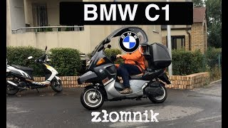 Złomnik: BMW C1, czyli skuter z dachem