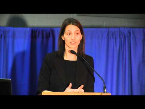 Dr. Josipa Petrunic speaks at the Future Oxford Expo