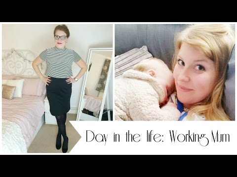 DAY IN THE LIFE OF A WORKING MUM | THE KNOTT BUMP & US