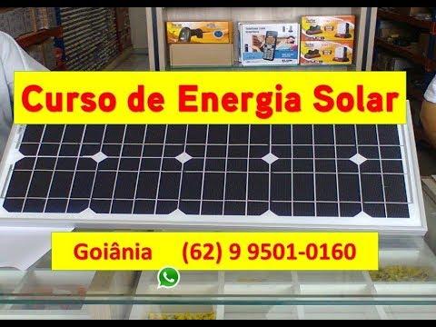 CURSO DE ENERGIA SOLAR: SISTEMAS FOTOVOLTAICOS - AULAS TEÓRICAS E PRATICAS
