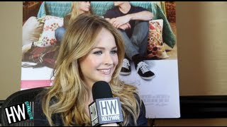 Britt Robertson Talks Kissing Dylan O