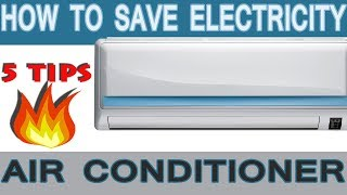 How to Save Electricity while using Air Conditioner in Hindi   Save Electricity AC Sleep Mode