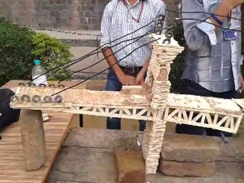 London bridge build by indian technocrats using ice cream sticks and london bridge build by indian technocrats using ice cream sticks and fevicol youtube ccuart Image collections