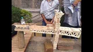 London Bridge Build By Indian Technocrats Using Ice-cream Sticks And Fevicol
