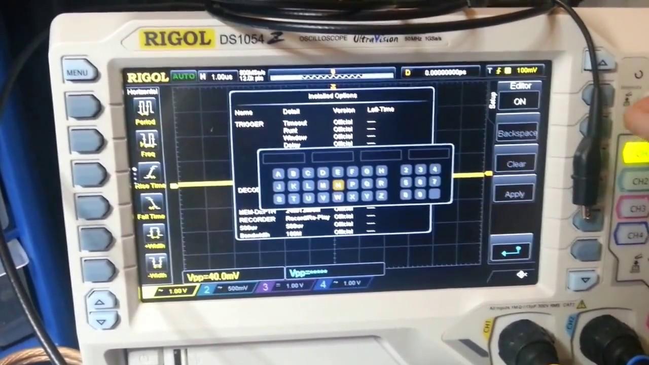 🔥 Rigol - Digital Storage Oscilloscopes | Virtual