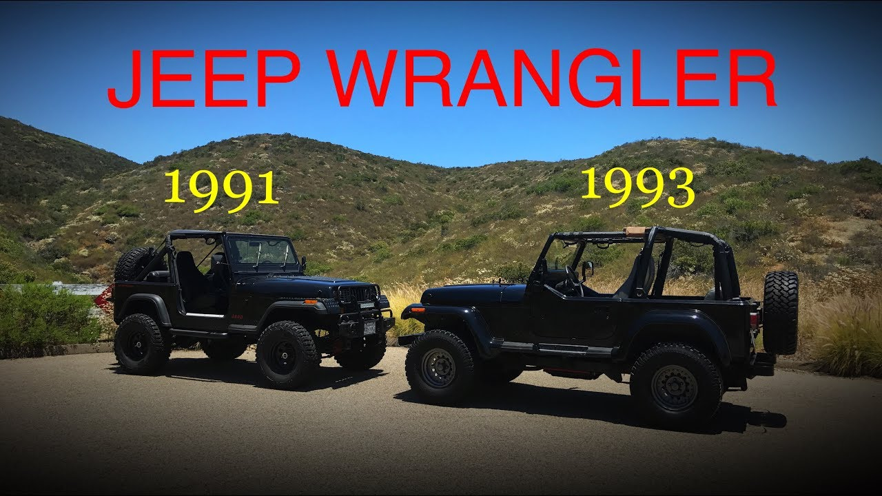My 1991 JEEP Wrangler YJ And Dales 1993 Jeep