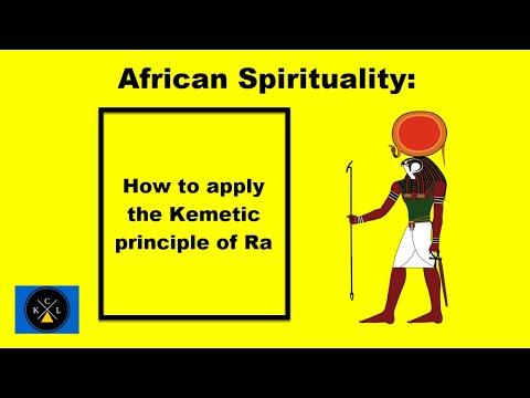 How to apply the Egyptian principle of Ra