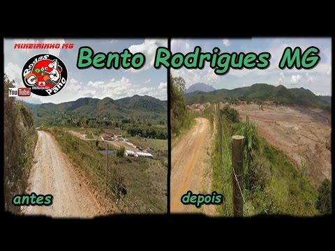 Bento Rodrigues (Mariana MG) - Viajando de Moto - Mineirinho MG