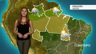Previsão Norte - Umidade baixa no sul da região